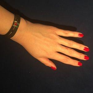 Other - CANCER astrology zodiac leather wrap bracelet